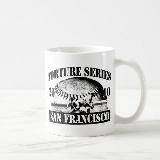 Torture Series Baseball 2010 San Francisco Giants Classic White Coffee Mug