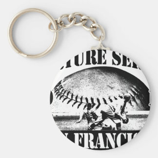 Torture Series Baseball 2010 San Francisco Keychain