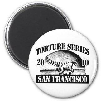 Torture Series Baseball 2010 San Francisco Magnet