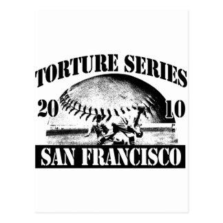 Torture Series Baseball 2010 San Francisco Postcard