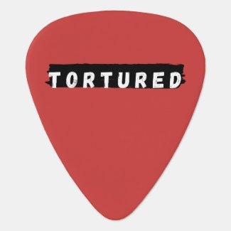 Tortured Logo Guitar Pick