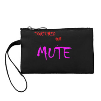 Tortured on Mute Band Coin Purse