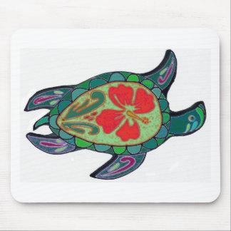 Tortus Hibiscus Mouse Pad