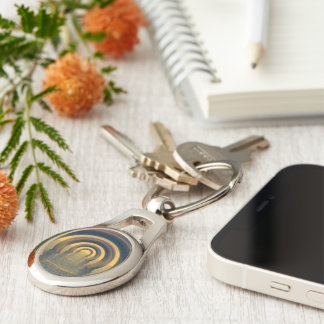 Torus Key Ring Keychain