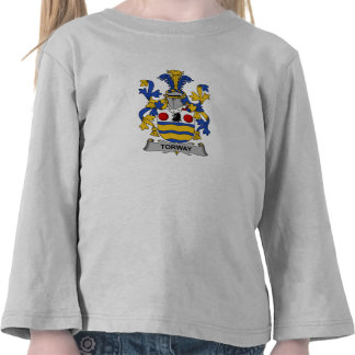 Torway Family Crest T-shirts