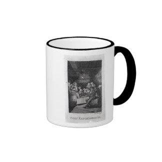 Tory Pandemonium, from John Trumbull's Coffee Mug