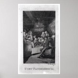 Tory Pandemonium, from John Trumbull's Posters