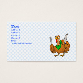 Tory Turkey Business Card