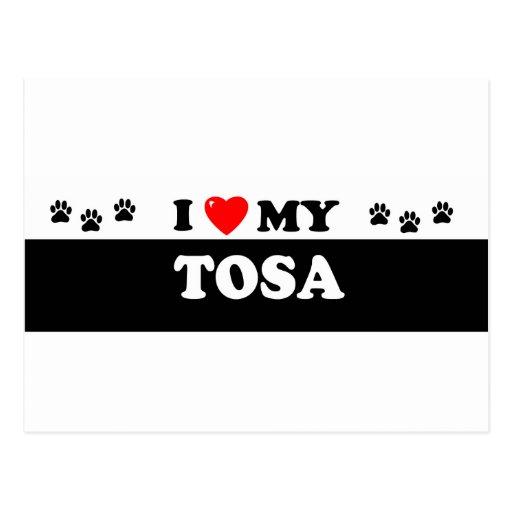 TOSA POSTCARD
