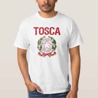Tosca Italian Surname Tee Shirt