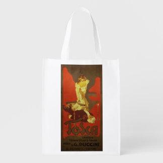 Tosca Opera Reusable Grocery Bag