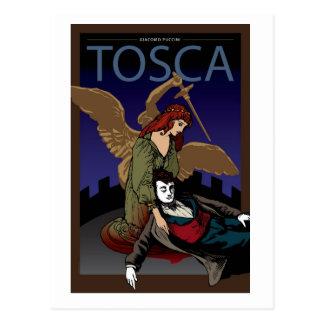Tosca, ópera postales