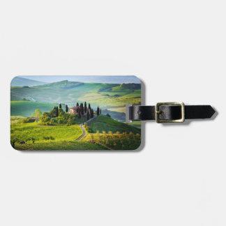 Toscana Etiqueta De Equipaje