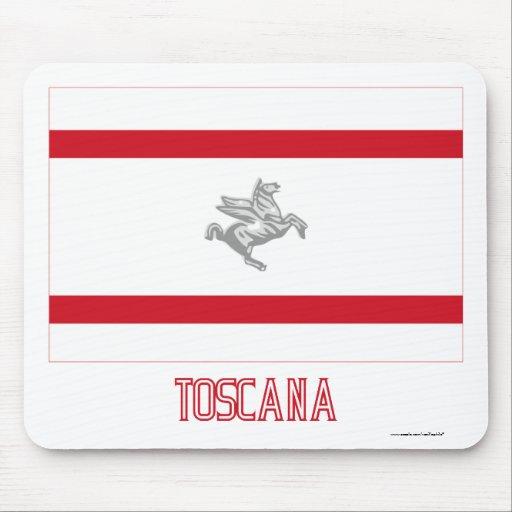 Toscana flag with name mousepad