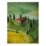 Toscana, Italia Tarjeta Postal