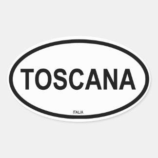 TOSCANA CALCOMANIA DE ÓVAL