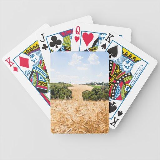 Toscana que sorprende baraja de cartas