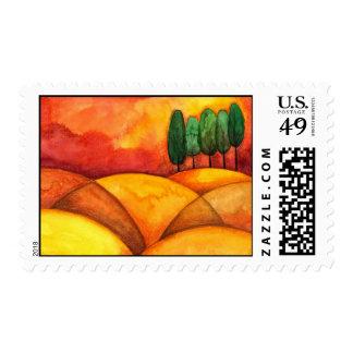 Toscana - Stamp