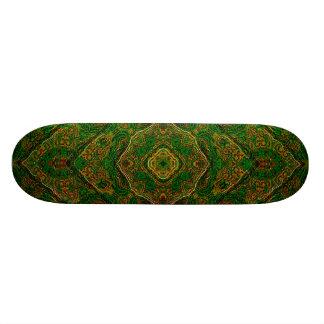 Toscana Sunset Mandala Skateboard