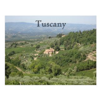 Toscana Tarjeta Postal
