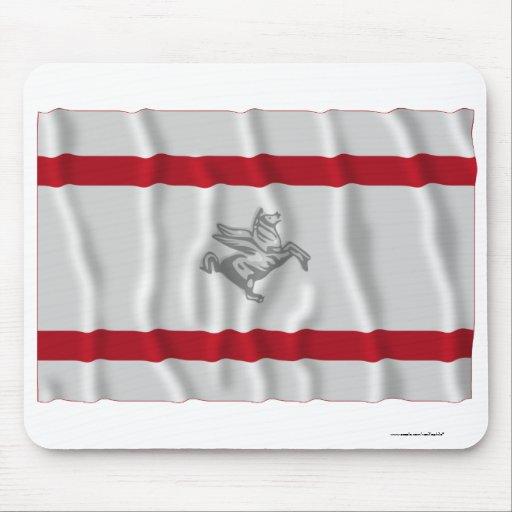 Toscana waving flag mousepads