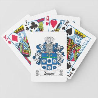 Toscani Family Crest Card Deck