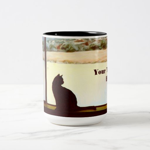 Tosca's Winter Window mug