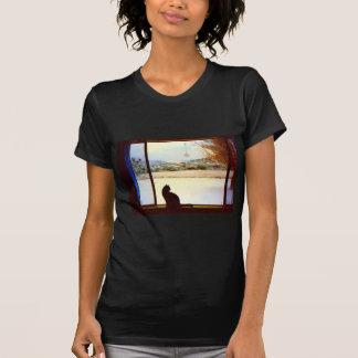 Tosca's Winter Window t-shirt