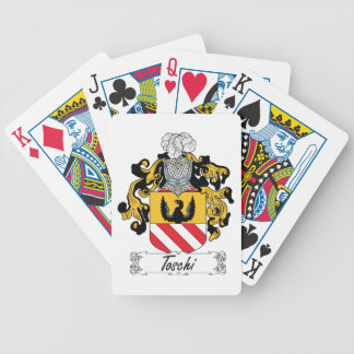 Toschi Family Crest Bicycle Card Decks