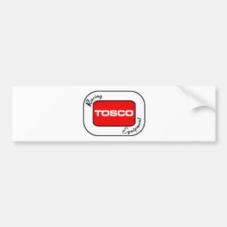 TOSCO que compite con el equipo Pegatina Para Auto