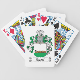 Tosetti Family Crest Bicycle Card Decks