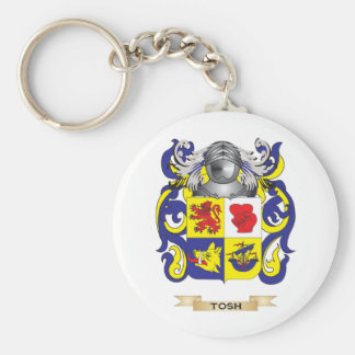 Tosh Family Crest (Coat of Arms) Basic Round Button Keychain