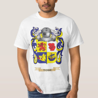 Tosh Family Crest (Coat of Arms) Tshirt
