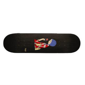 Toshio Ito Japanese Art Girl With Flower Skateboar Skateboard Deck