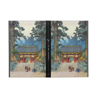 Toshogu Shrine Hiroshi Yoshida japanese fine art iPad Mini Cover