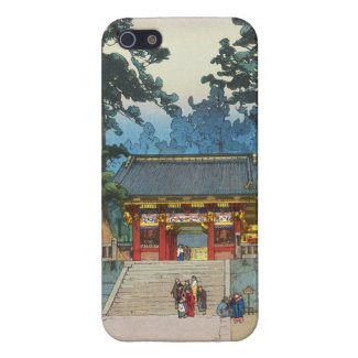 Toshogu Shrine Hiroshi Yoshida japanese fine art iPhone 5 Cover