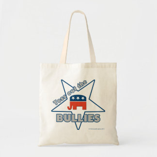 Toss Out the Republican BULLIES Canvas Bags