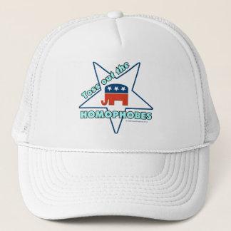 Toss Out the Republican Homophobes! Trucker Hat