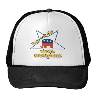 Toss Out the Republican WARMONGERS! Trucker Hat
