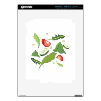 Toss Salad iPad 3 Skin
