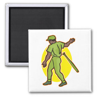 toss the bat 2 inch square magnet