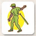 toss the bat