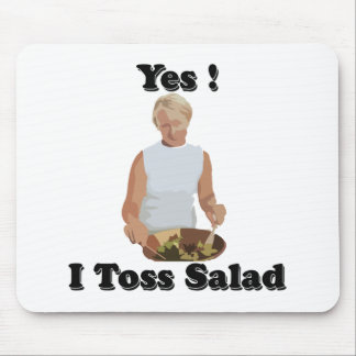 Toss the Salad Mouse Pad