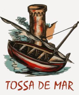 Tossa de Mar retro (Cataluña) Tshirts