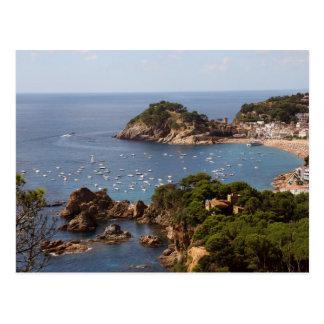 TOSSA DE MAR. Town located in the Costa Brava. Postcard