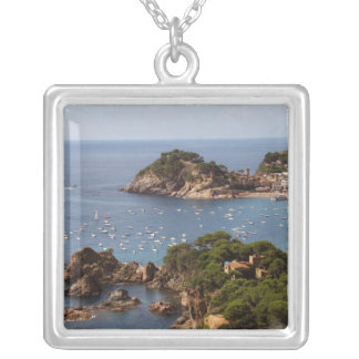 TOSSA DE MAR. Town located in the Costa Brava. Silver Plated Necklace