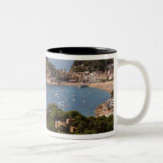 TOSSA DE MAR. Town located in the Costa Brava. Two-Tone Coffee Mug