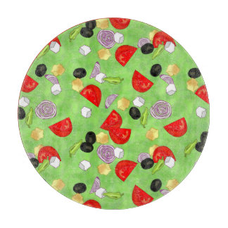 Tossed Salad Cutting Board