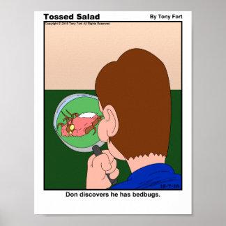 Tossed Salad Daily Cartoon Print