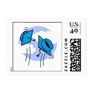 Tossing Caps Stamp